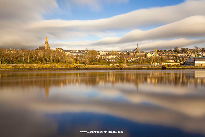 River Foyle, Derry, Northern Ireland.