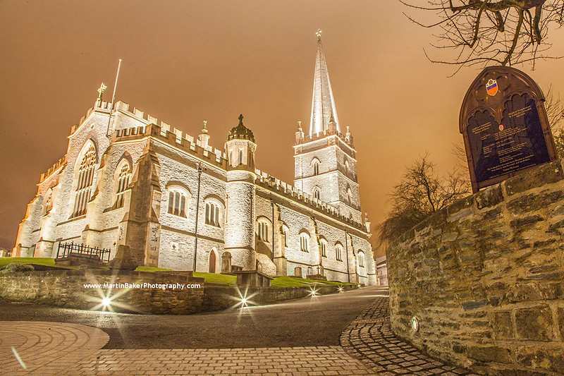 St. Columb's Cathedral, Derry, Northern Ireland.