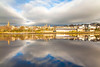 River Foyle, Derry, Northern Ireland.