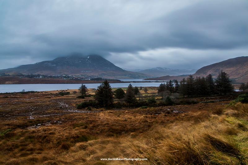 Mount Errigal, Donegal, Ireland.