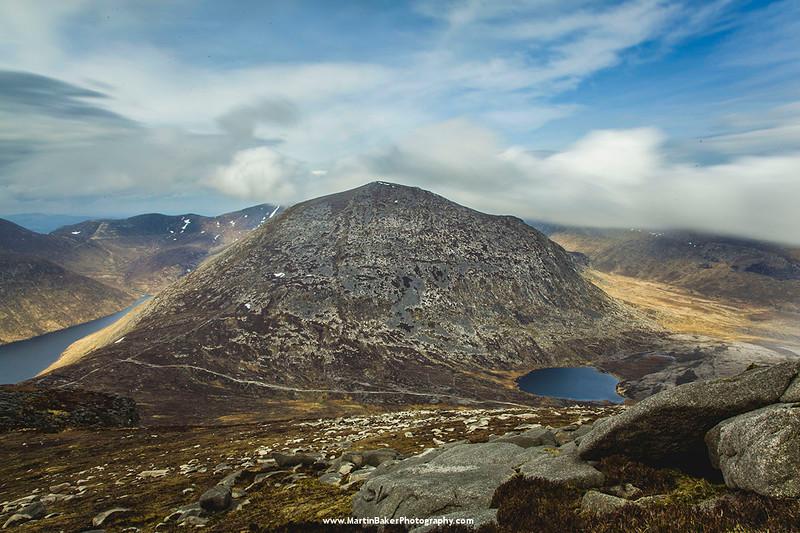 Slievelamagan, Mourne Mountains, Down, Northern Ireland.