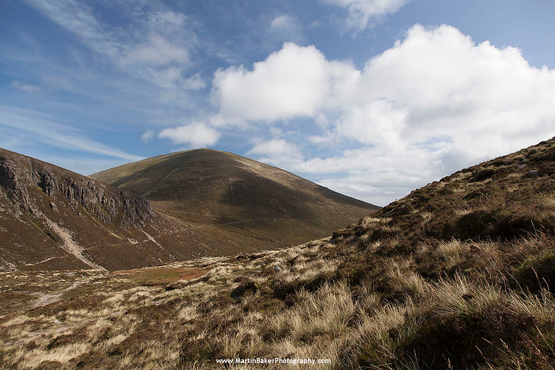 Slieve Donard, The Mourne Mountains, Down, Northern Ireland.