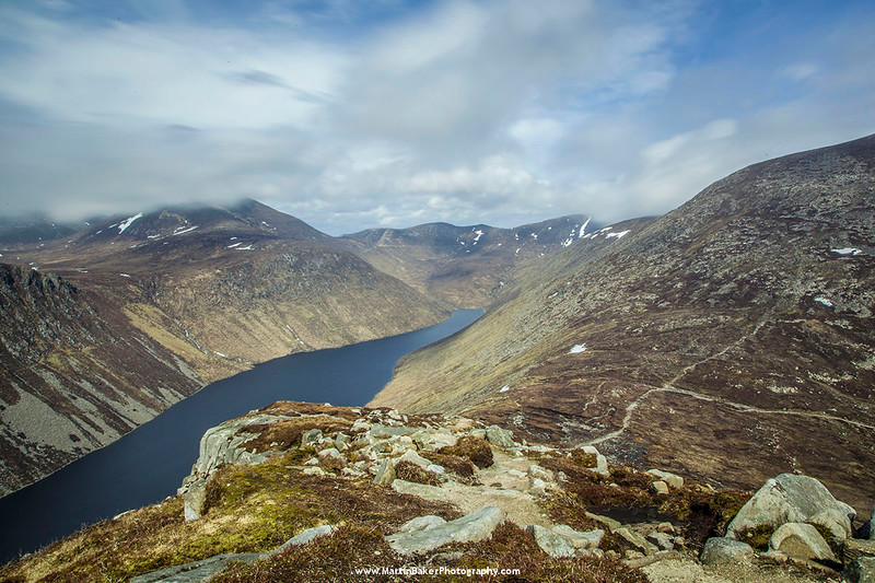 Ben Crom Reservoir, Mourne Mountains, Down, Northern Ireland.