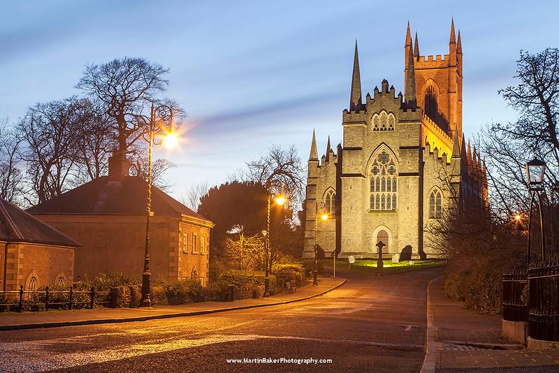 Down Cathedral, English Street, Downpatrick, Down, Northern Ireland.