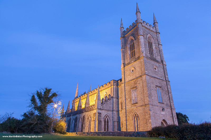 Down Cathedral, Downpatrick, Down, Northern Ireland.
