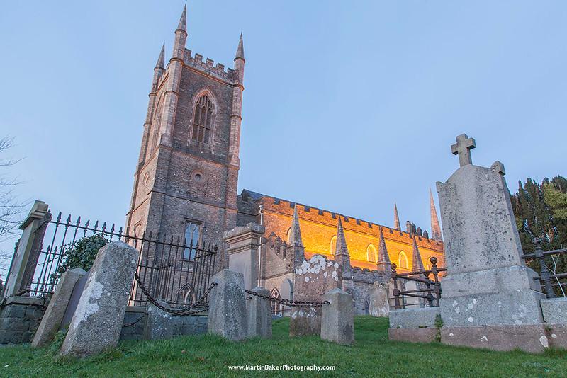 Down Cathedral, Downpatrick, Down, Northern Ireland.