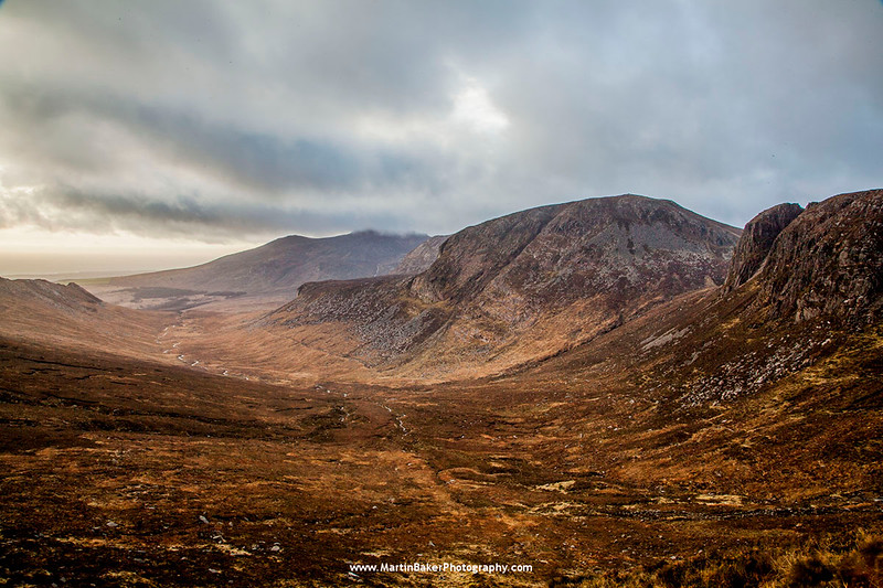Annalong River Valley, Mourne Mountains, Down, Northern Ireland.