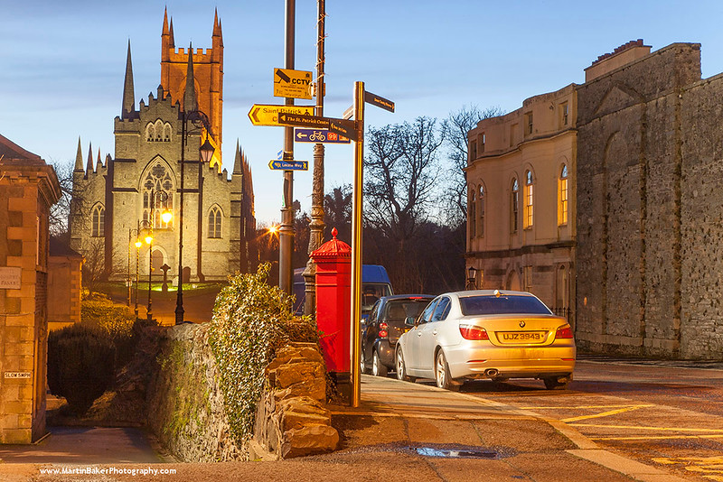 Down Cathedral, English Street, Downpatrick, Down, Northern Ireland.