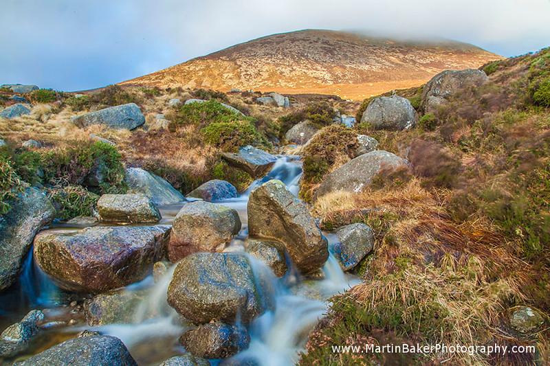 Slieve Donard, Mourne Mountains, Down, Northern Ireland.