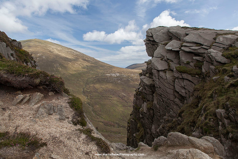 Slieve Donard and the Devil's Coachroad, The Mourne Mountains, Down, Northern Ireland.