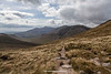 Hare's Gap, The Mourne Mountains, Down, Northern Ireland.