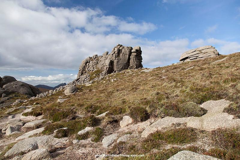 Slieve Binnian, The Mourne Mountains, Down, Northern Ireland.