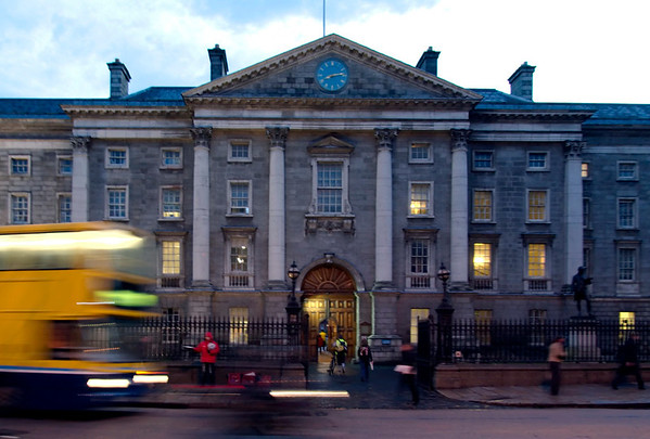 Trinity College, Dublin, 12 January 2009