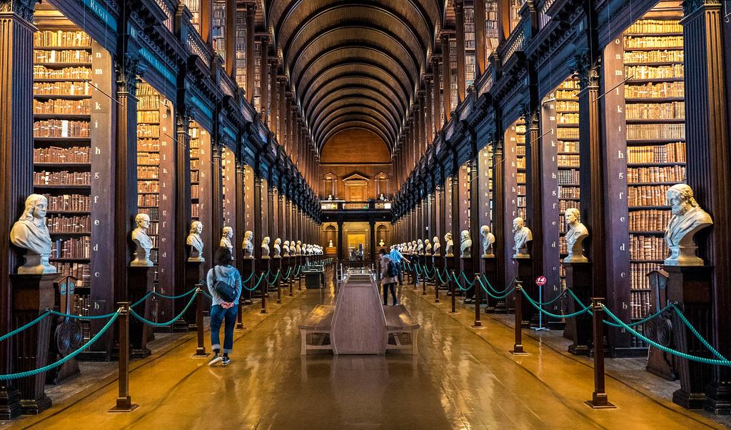 Weekend Getaways in Europe: Trinity College Library - Dublin, Ireland