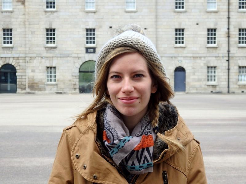 Audrey goes to Ireland.