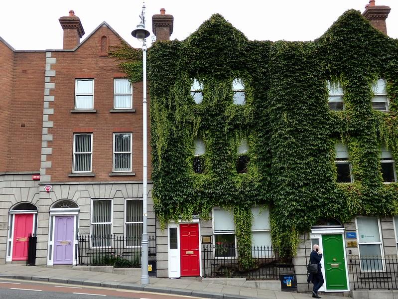 Colourful doors in Dublin