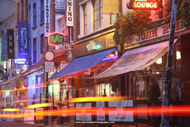 South Anne Street, Dublin, Ireland.