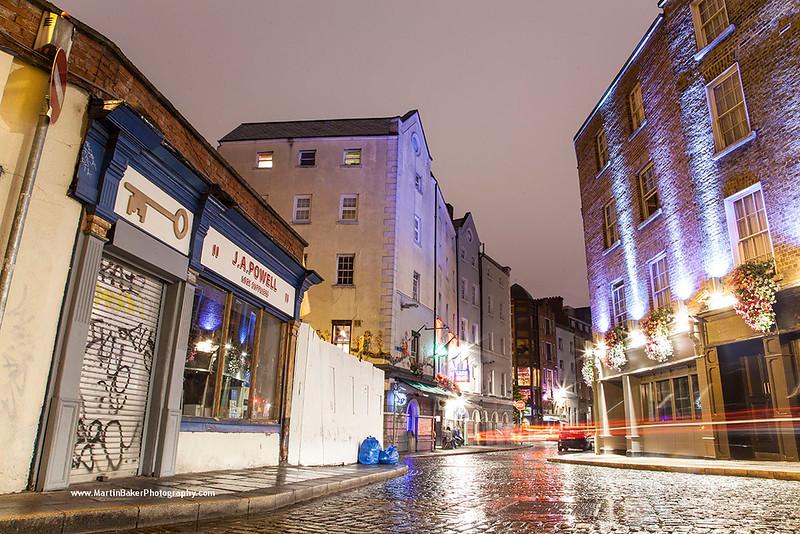 Essex Gate, Temple Bar, Dublin, Ireland.
