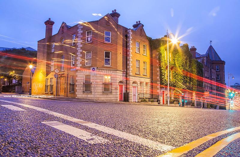 Winetavern Street, Dublin, Ireland.