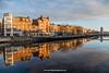 River Liffey, Ormond Quay, Dublin, Ireland.