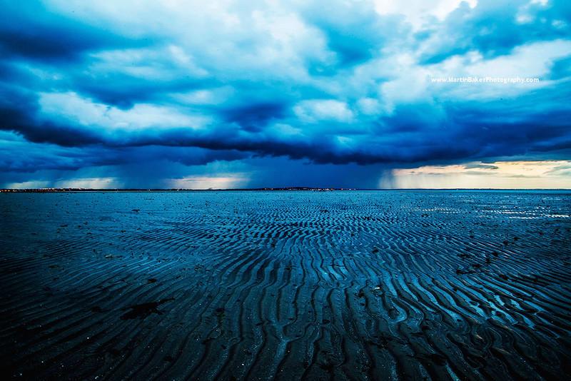 Claremont Beach and Portmarnock, Howth, Dublin, Ireland.