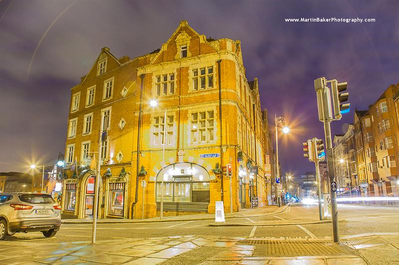 Fishamble Street and Lord Edward Street, Dublin, Ireland.