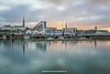 Dún Laoghaire harbour, Dublin, Ireland.