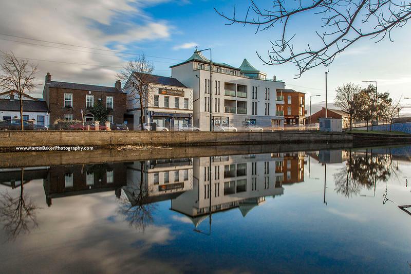 Grand Canal, Harold's Cross, Dublin, Ireland.