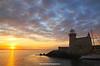 Howth Lighthouse, Howth, Dublin, Ireland.
