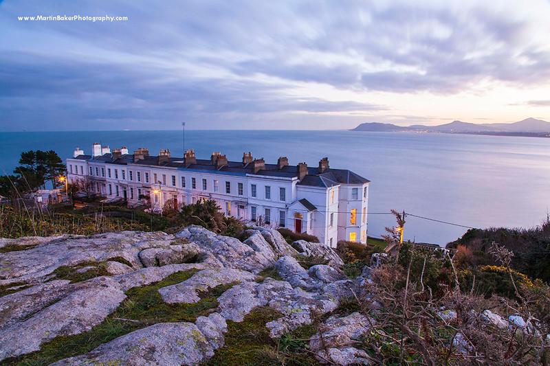 Sorrento Terrace and Killiney Bay, Dublin, Ireland.