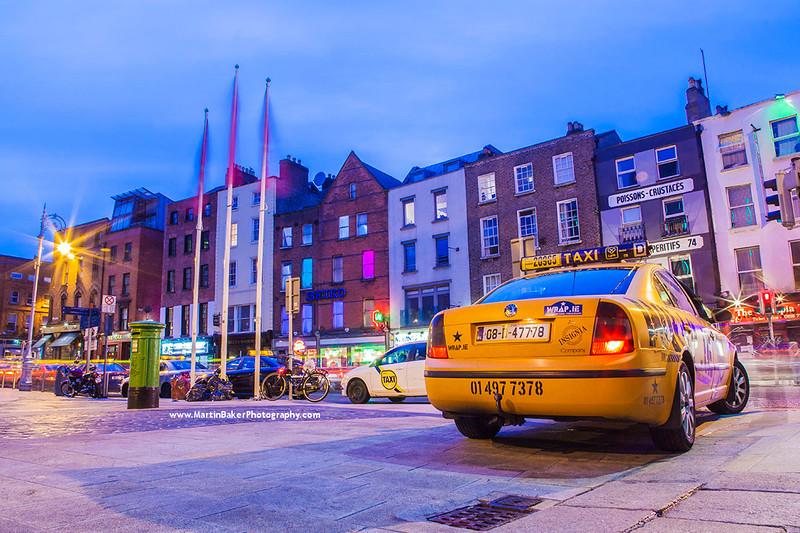 Dame Street, Dublin, Ireland.