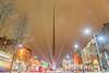 The Spire (Monument of Light), O'Connell Street, Dublin, Ireland.