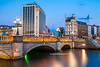 O'Connell Bridge, Dublin, Ireland.