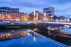 Rosie Hackett Bridge, Dublin, Ireland.