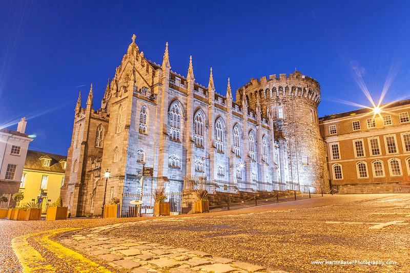 Dublin Castle, Dame Street, Dublin, Ireland.