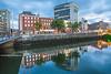 O'Connell Bridge and River Liffey, Dublin, Ireland.