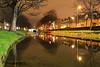 Grand Canal, Dublin, Ireland.