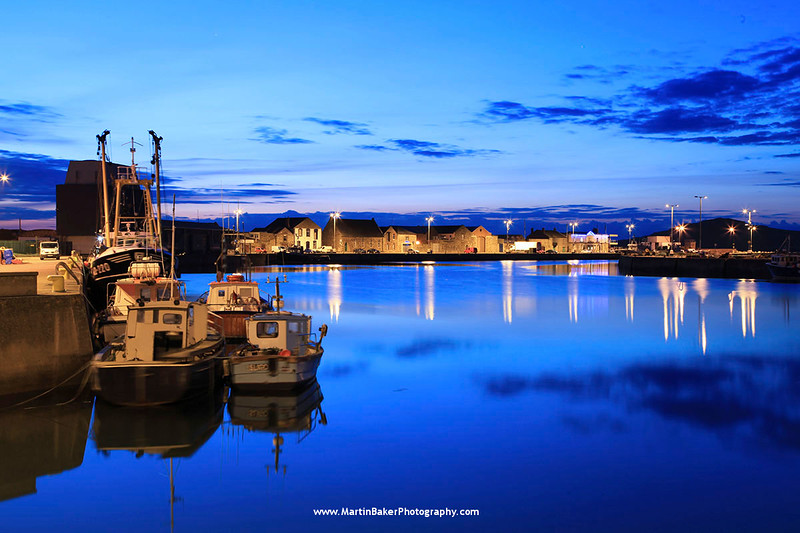 Howth Harbour, Howth, Dublin, Ireland.