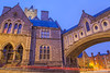 Synod Hall and Christ Church Cathedral, Winetavern Street, Dublin, Ireland.