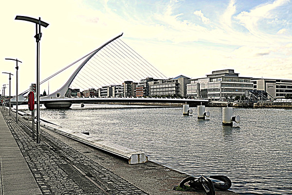 Samuel Beckett Bridge, Dublin - August 28, 2013