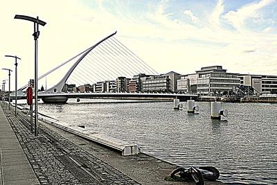 Samuel Beckett Bridge, Dublin - August 28, 2013