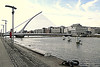 Samuel Beckett Bridge, River Liffey, Dublin, August 28, 2013