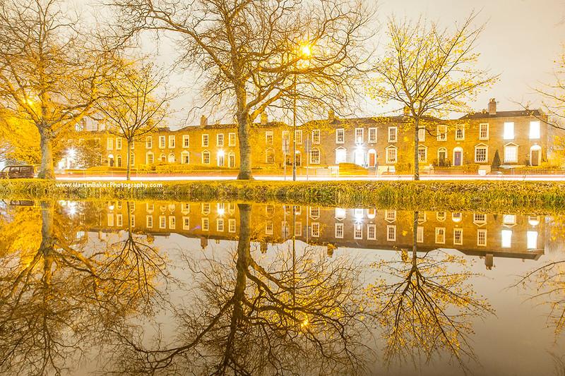 Grand Canal, Wilton Terrace, Dublin, Ireland.