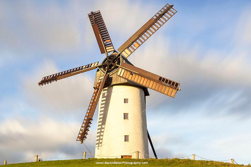 Skerries Mills Windmill, Dublin, Ireland.