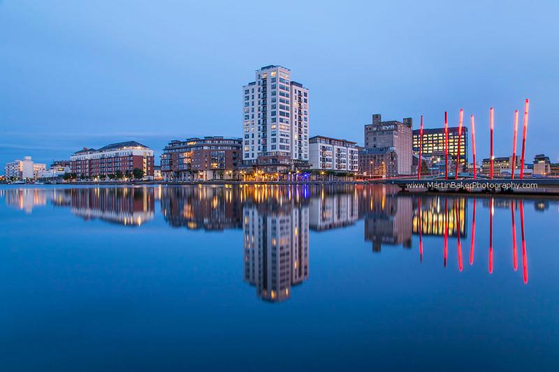 Grand Canal Dock, Docklands, Dublin, Ireland.