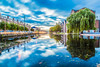 Grand Canal, Portobello, Dublin, Ireland.