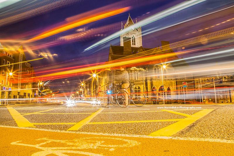 Christ Church Place, Dublin, Ireland.