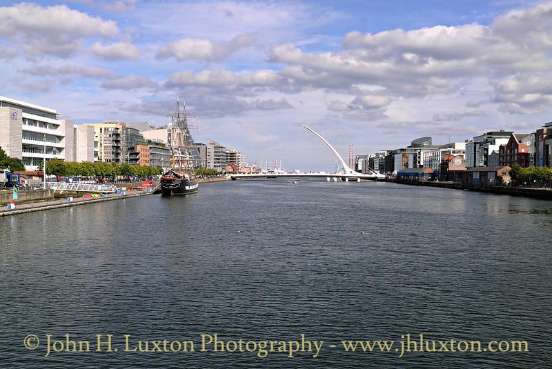 River Liffey, Dublin - August 28, 2013