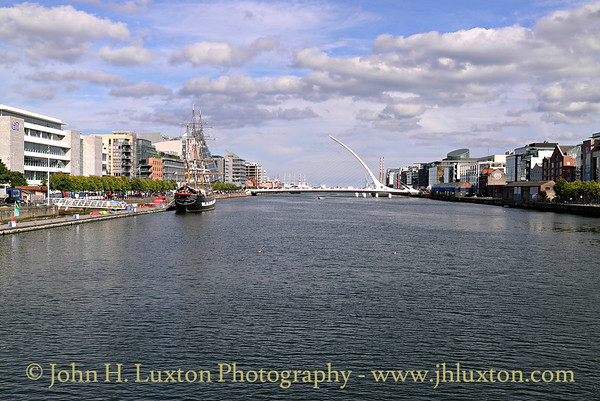River Liffey, Dublin - August 28, 2013