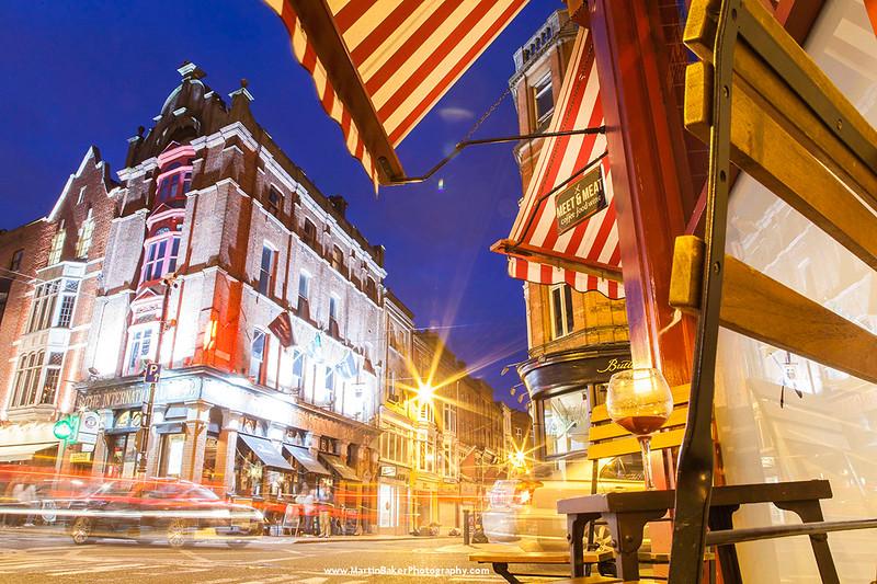 Exchequer Street, Dublin, Ireland.